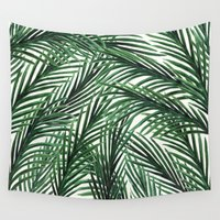 tropical Wall Tapestries featuring Tropical by Elly Liyana