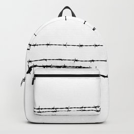 Barb wire 2 Backpack