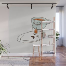 Tea Baggin' Wall Mural