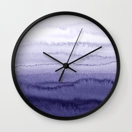 WITHIN THE TIDES ICELAND LUPINS by Monika Strigel Wall Clock