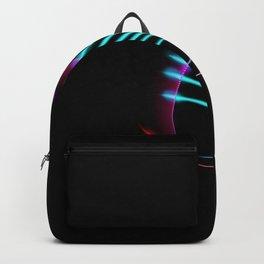 Neon Cat Backpack