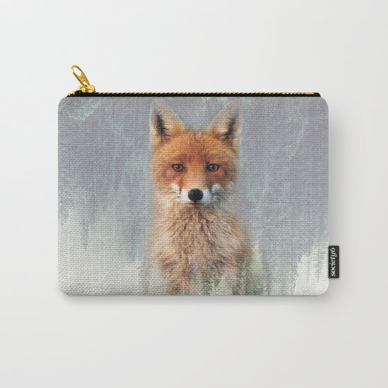 Vanishing Fox Carry-All Pouch