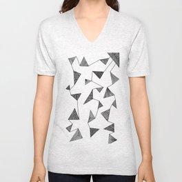 Triangle Barf Unisex V-Neck