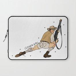 Jurassic Park Pin-Ups ~ Robert Muldoon Laptop Sleeve