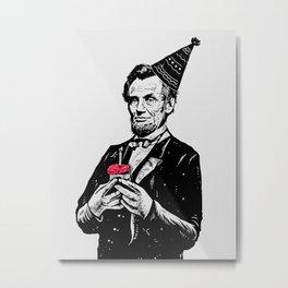Happy Birthday Mr.President Metal Print
