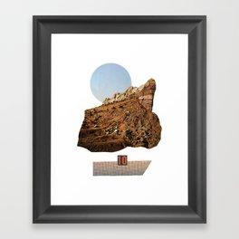 rock ten Framed Art Print