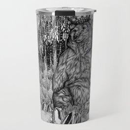 Cave of the Bear King Travel Mug