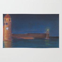 Lighthouse on the Bay Rug
