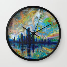 Horizons Wall Clock