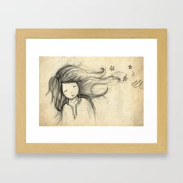 Those things I hate about you Framed Art Print