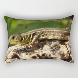 Lizard Rectangular Pillow