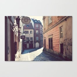 Malostrana, Prague. Canvas Print