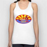 arizona Tank Tops featuring Arizona by Anfelmo