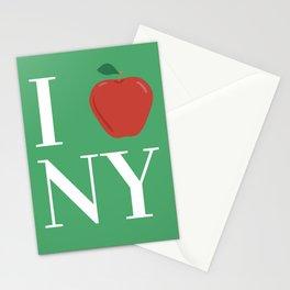 I LOVE NY big apple Stationery Cards