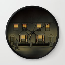 The Ripper of Whitechapel Wall Clock