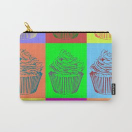 Warhol Inspired Cupcakes Carry-All Pouch