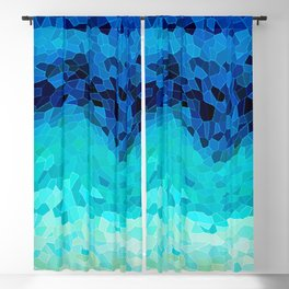 INVITE TO BLUE Blackout Curtain