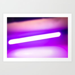 light reflection Art Print