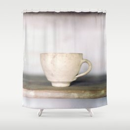 cup of kindness Shower Curtain
