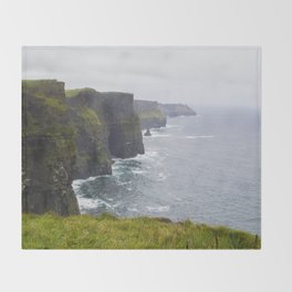Cliffs of Moher Throw Blanket
