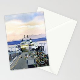 Ferry Line Stationery Cards