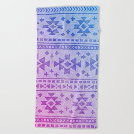 Aztec Pattern 04 Beach Towel