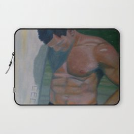 Summer Time by Lu Laptop Sleeve
