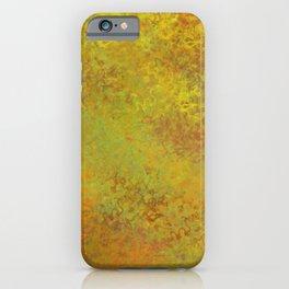Liquid Hues Fluid Art Digital Illustration, Digital Watercolor Artwork iPhone Case