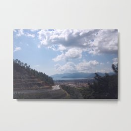 Descent Into Marmaris Metal Print