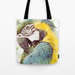 Magical Parrot - Guacamaya Variopinta - Magical Realism Tote Bag