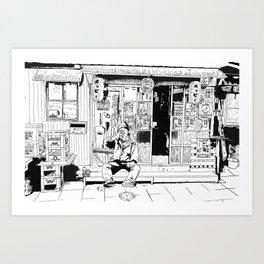 tokyo drinker Art Print