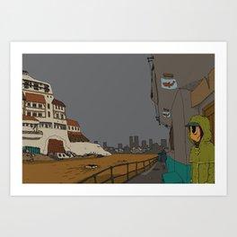 Le Bureau des Ouragans Art Print