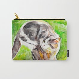 The cat outdoors Carry-All Pouch