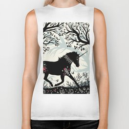 Folk Unicorn Biker Tank