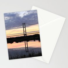Humber Bridge Dawn Stationery Cards