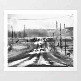 One Road Home, Canandaigua Art Print