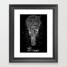 The Supreme Being Framed Art Print