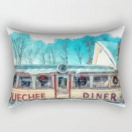 The Quechee Diner Rectangular Pillow