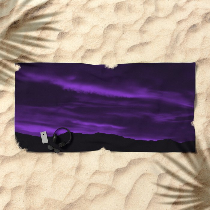 SW Velvet Morning Beach Towel