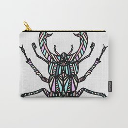 Beetle Grey Carry-All Pouch