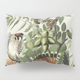 American Sparrow Hawk from Birds of America (1827) by John James Audubon etched by William Home Liza Pillow Sham