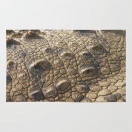 Detail of crocodile's skin Rug
