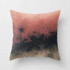 Zero Visibility Dust Throw Pillow