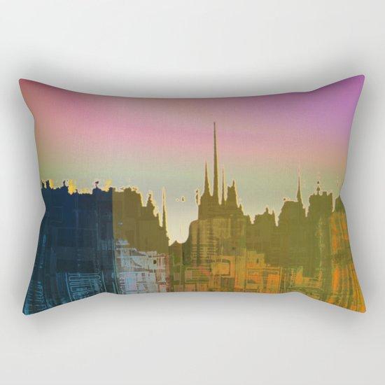 Lights close to the Harbor / Urban Fantasy 14-01-17 Rectangular Pillow