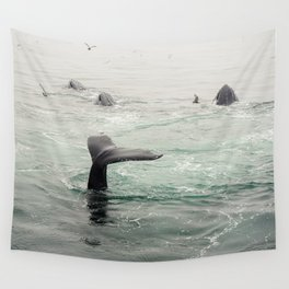 Whale Tail Wall Tapestry