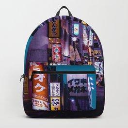 Tokyo at Night - Shimbashi Backpack