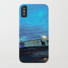 A horse. iPhone X Slim Case