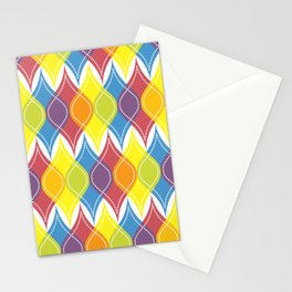 Rainbow Baubles Stationery Cards