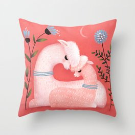 ALPACA LOVE Throw Pillow