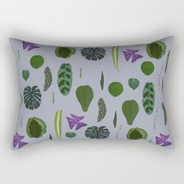 A non-scientific botanical investigation of the indoor plant. Rectangular Pillow